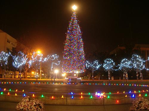 Downtown Fresno's Christmas Tree