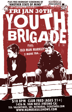 Youth brigade at Audie's