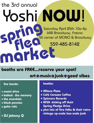 YoshiNowSpringFleaMarket