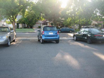 smart car - dumb driver