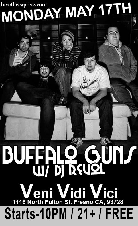 Madera's Buffalo Guns Giving Away For Free At VVV's Tonight