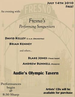 Audie's tonight