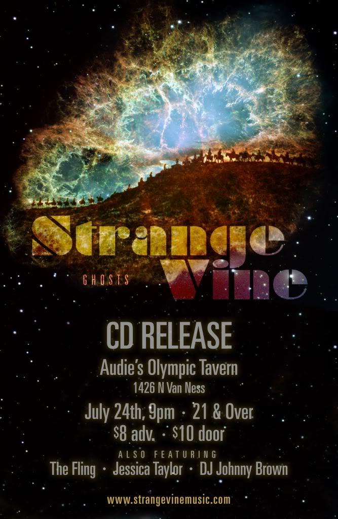 StrangeVineCDRelease-Poster2