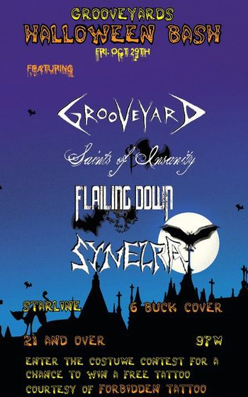 grooveyard - Names For A Halloween Party