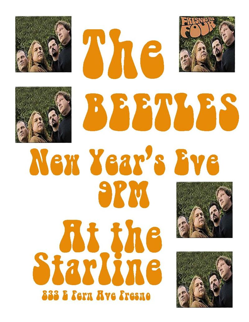 Beetles new year's 2011-12 flyer