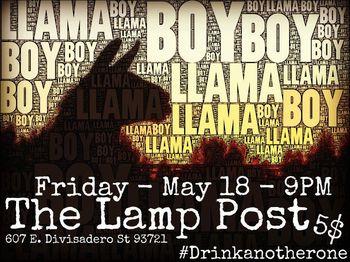 Llamaboy