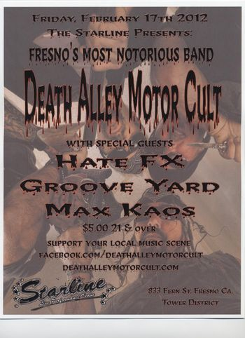 Death alley motor cult